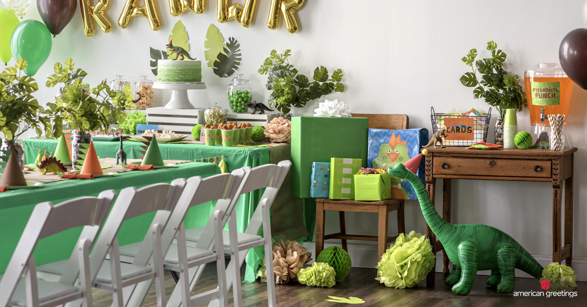Best ideas about Dinosaur Birthday Party Decorations . Save or Pin Dinosaur Birthday Party Ideas Inspiration Now.
