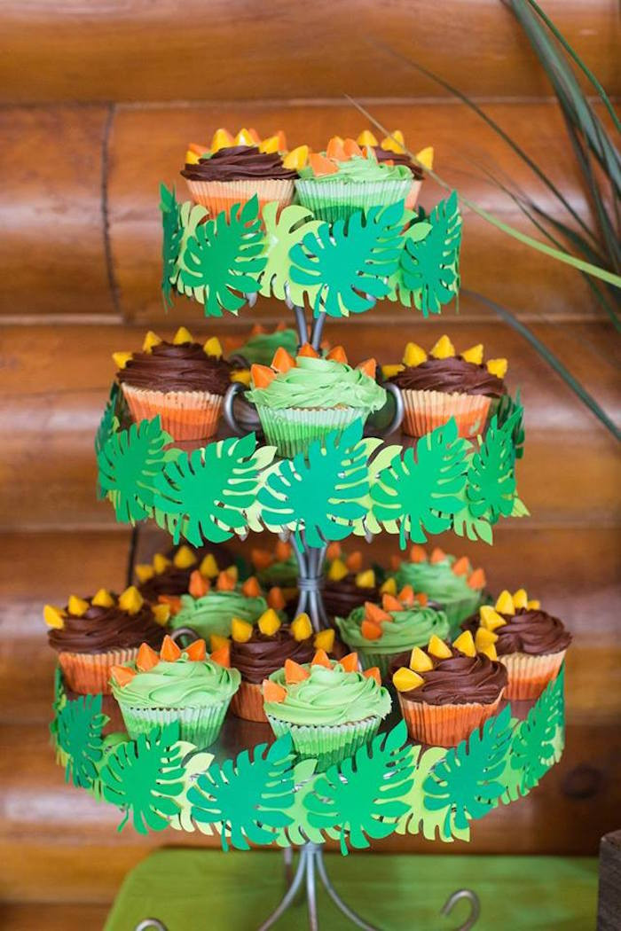 Best ideas about Dinosaur Birthday Party Decorations . Save or Pin Kara s Party Ideas Dinosaur 5th Birthday Party Now.