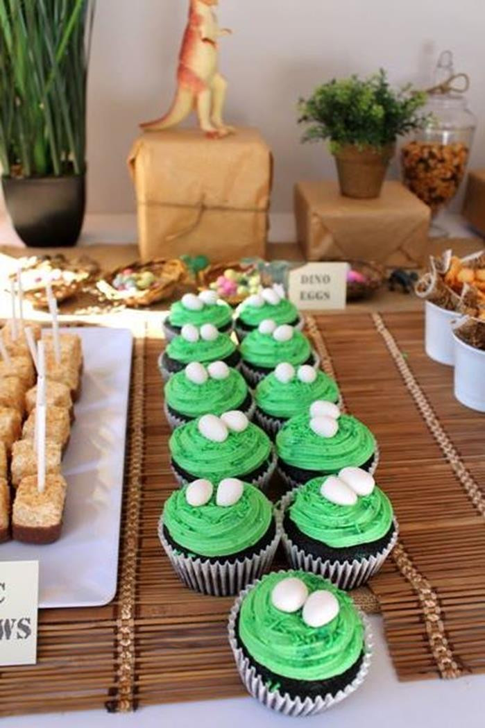 Best ideas about Dinosaur Birthday Party Decorations . Save or Pin Kara s Party Ideas Dinosaur Birthday Party Planning Ideas Now.