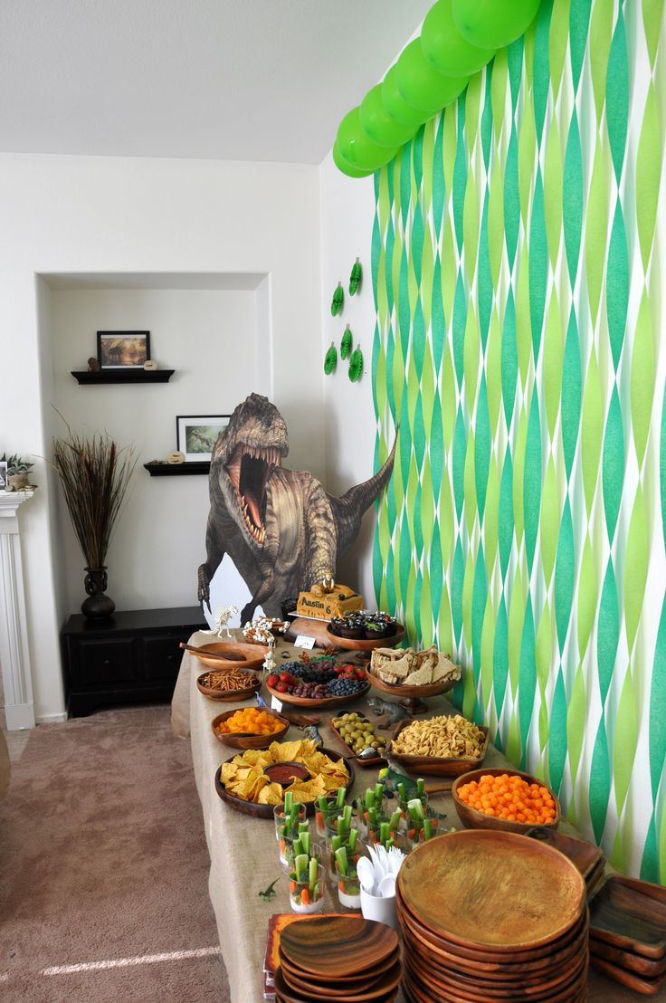 Best ideas about Dinosaur Birthday Party Decorations . Save or Pin Pinterest • The world's catalog of ideas Now.