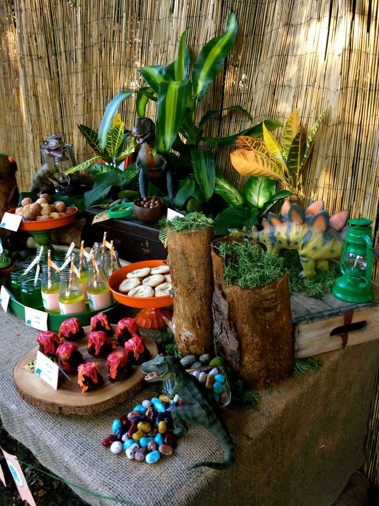 Best ideas about Dinosaur Birthday Party Decorations . Save or Pin Dinosaur Birthday Party Ideas 1 of 24 Now.