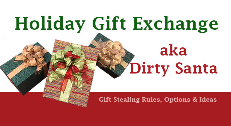 Best ideas about Dirty Santa Gift Exchange Ideas . Save or Pin Holiday Gift Exchange Dirty Santa Gift Grab Game Now.
