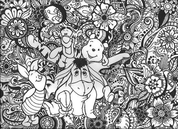 Best ideas about Disney Adult Coloring Books . Save or Pin 58 best disney images on Pinterest Now.