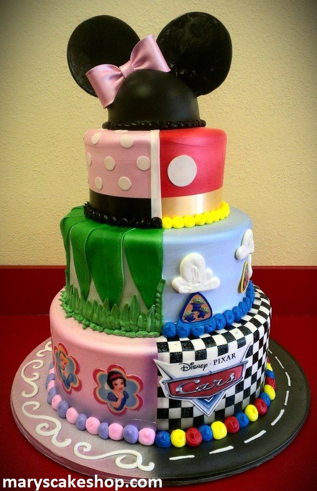 Best ideas about Disney Birthday Cake . Save or Pin 587 Best images about Disney Cake Ideas on Pinterest Now.