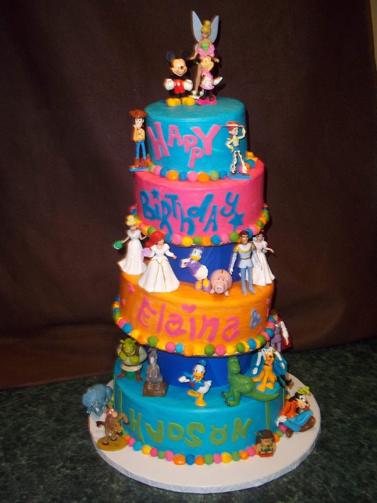 Best ideas about Disney Birthday Cake . Save or Pin Disney Birthday Cake birthdaycake Now.