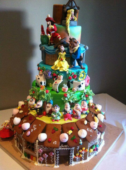 "Best ideas about Disney Birthday Cake . Save or Pin 1000 images about "" DISNEY"" CAKES and CUPCAKES Now."