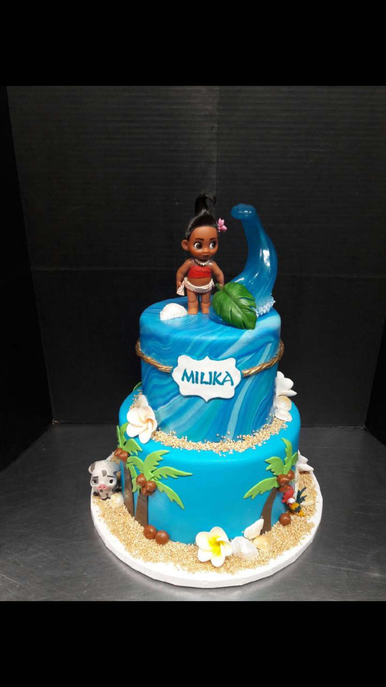 Best ideas about Disney Birthday Cake . Save or Pin Disney Moana birthday cake disneyprincess Now.
