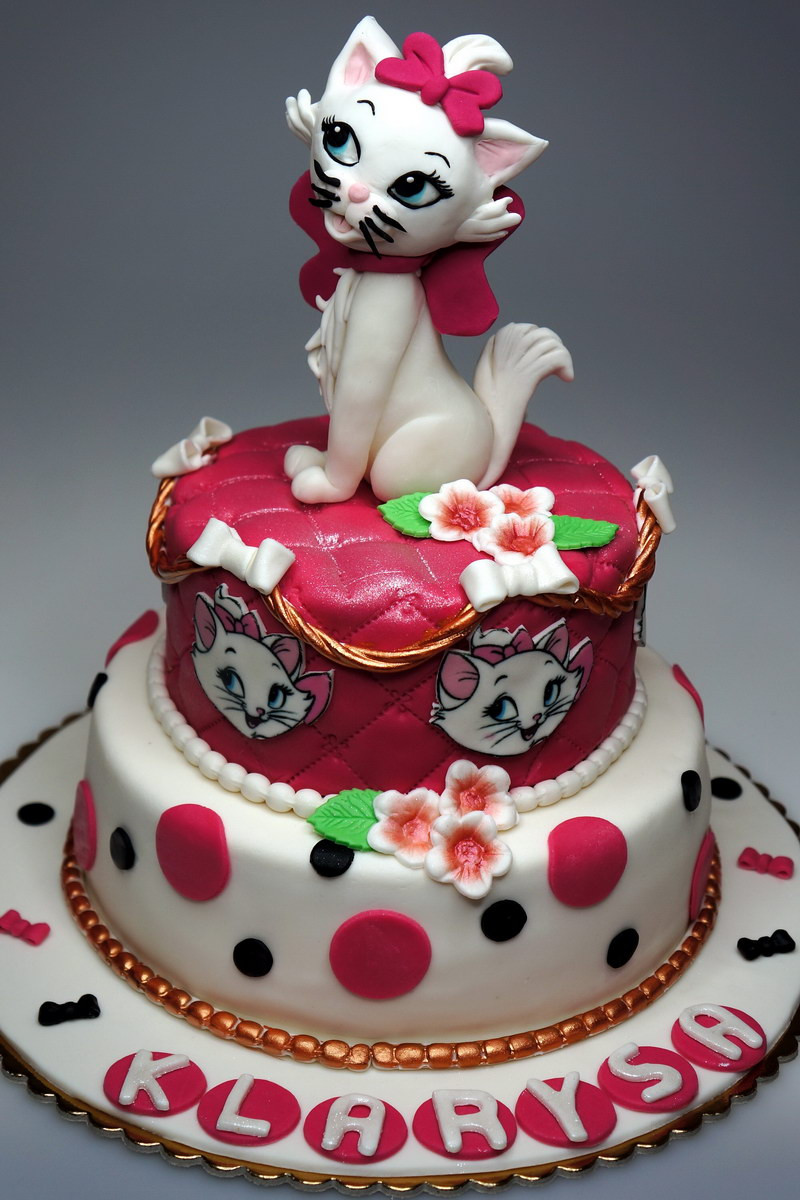 Best ideas about Disney Birthday Cake . Save or Pin London Patisserie Birthday Cake Aristocats Marie London Now.