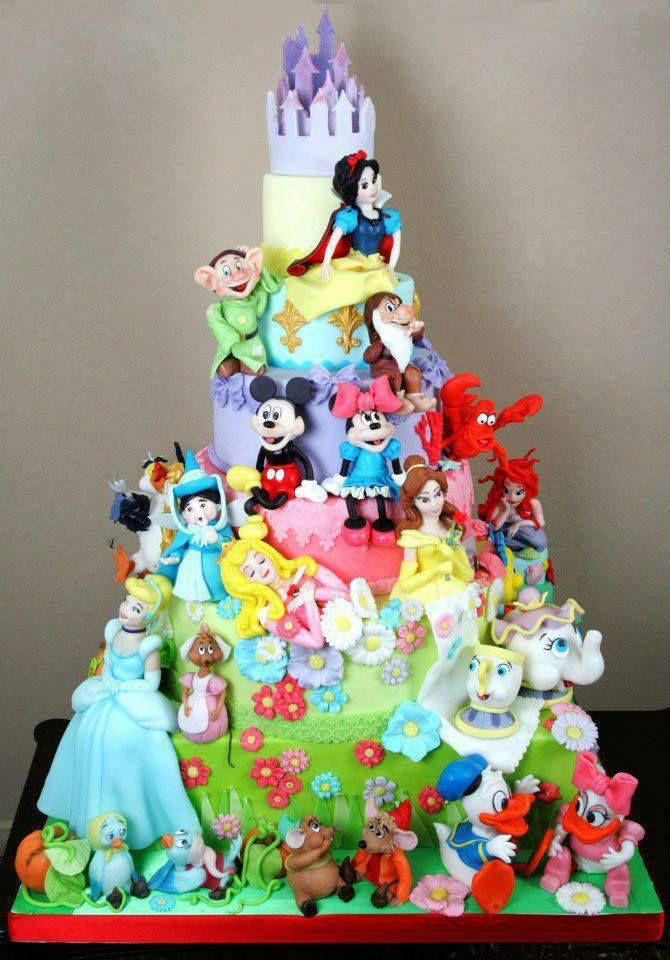 Best ideas about Disney Birthday Cake . Save or Pin 17 Best ideas about Disney Themed Cakes on Pinterest Now.