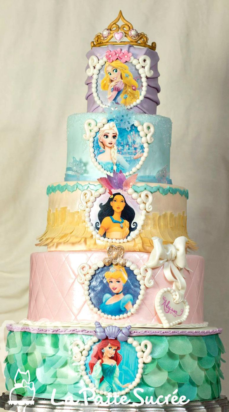 Best ideas about Disney Birthday Cake . Save or Pin Disney Princess Cake cakes in 2019 Now.
