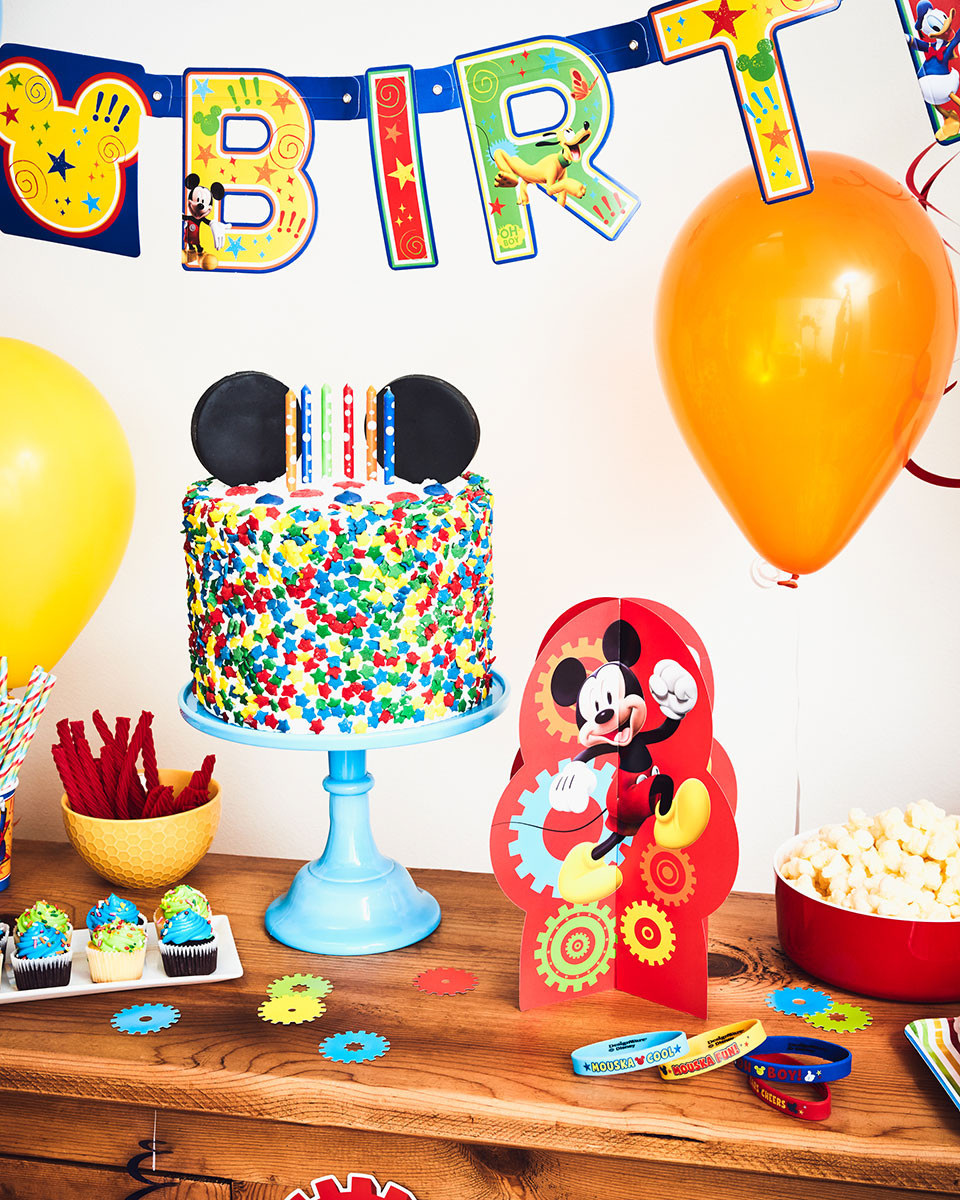 Best ideas about Disney Birthday Party . Save or Pin A Colorful Mickey Mouse Birthday Party Now.