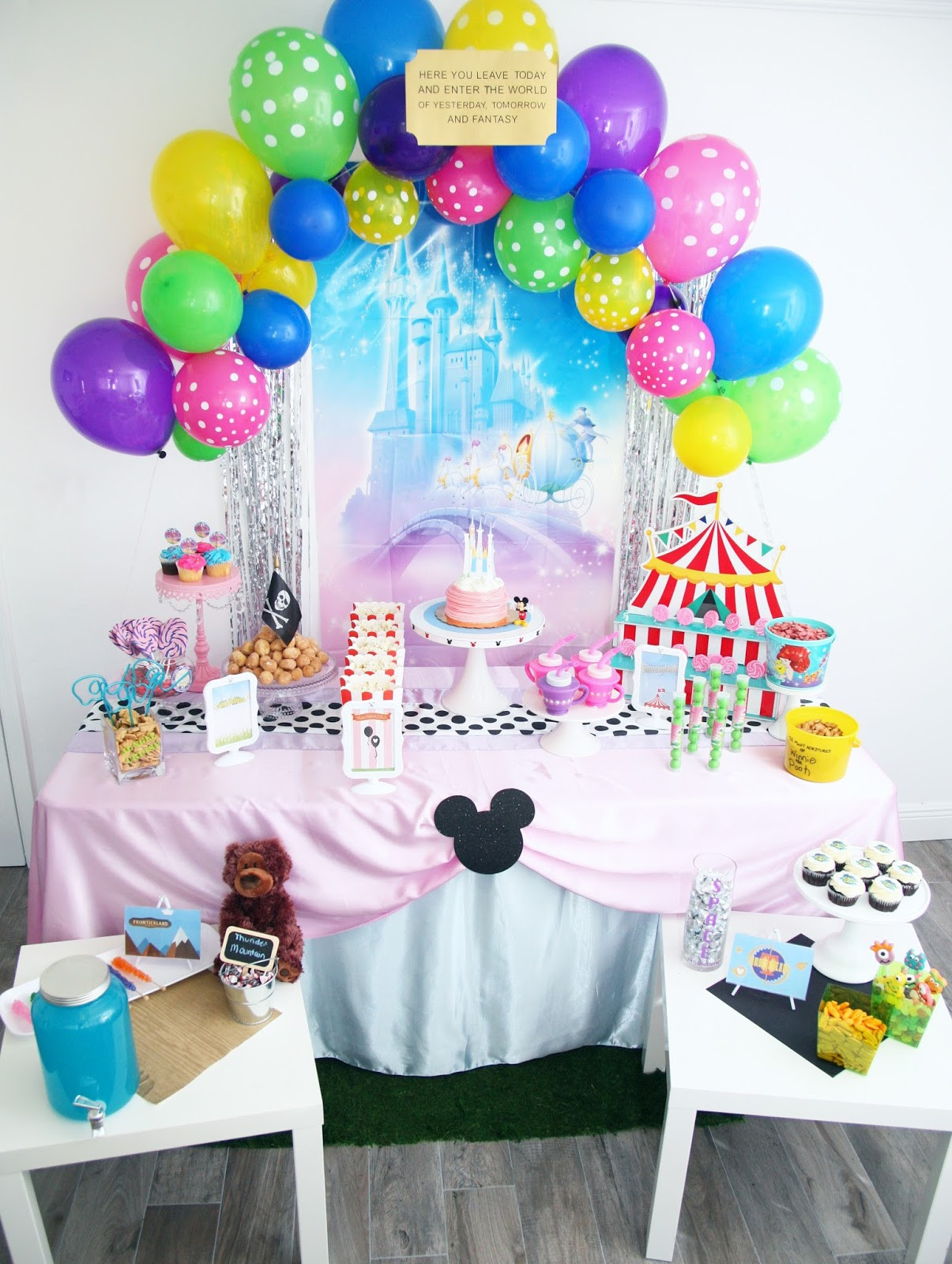 Best ideas about Disney Birthday Party . Save or Pin Walt Disney World Birthday Party Now.