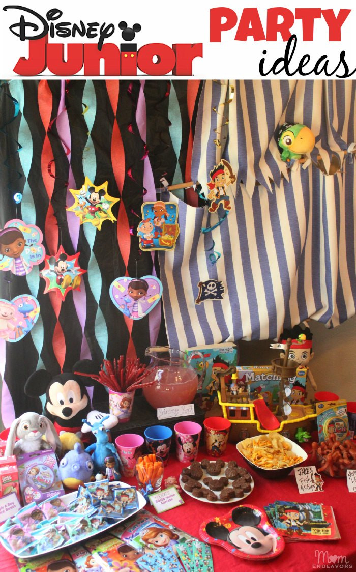 Best ideas about Disney Birthday Party . Save or Pin Disney Junior Party Ideas Now.