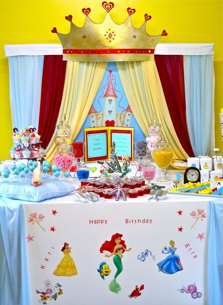Best ideas about Disney Birthday Party . Save or Pin Disney Princess Birthday Party Ideas Now.