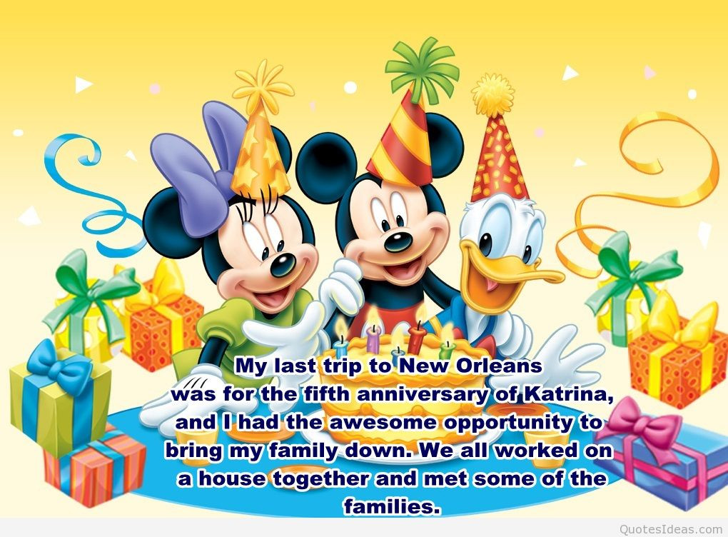 Best ideas about Disney Birthday Wishes . Save or Pin Happy anniversary birthdays wallpapers cakes and wishes Now.
