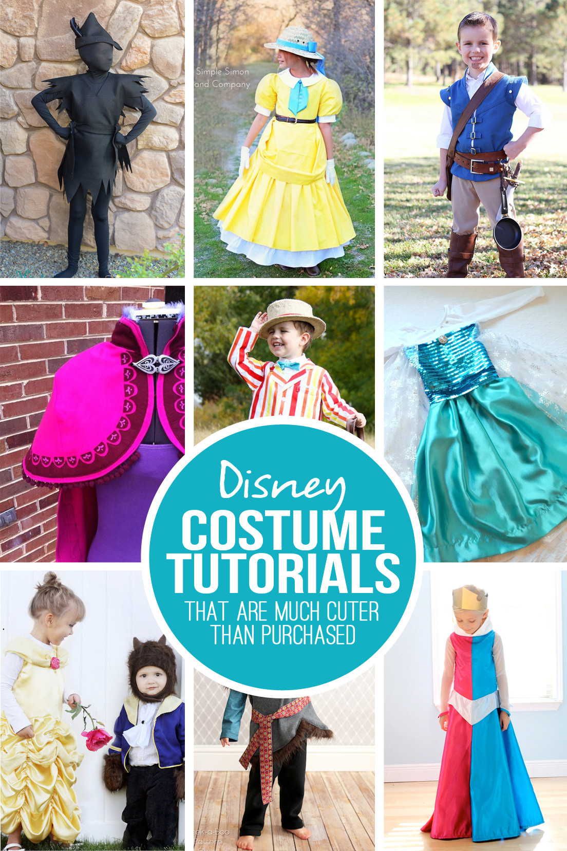 Best ideas about Disney Character Costumes DIY . Save or Pin 28 DIY Disney Costume Tutorials at are MUCH cuter than Now.