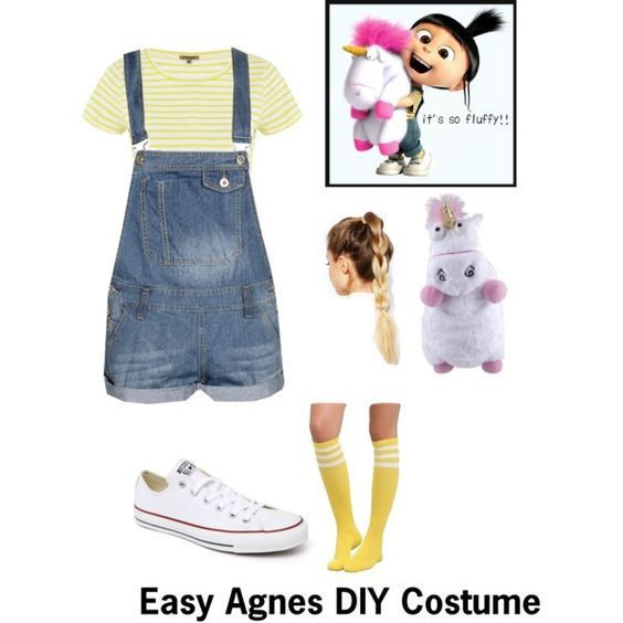 Best ideas about Disney Character Costumes DIY . Save or Pin Agnes from Despicable Me DIY Costume Now.