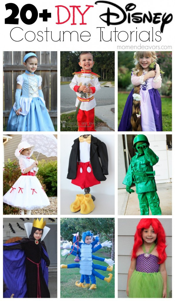 Best ideas about Disney Character Costumes DIY . Save or Pin 20 DIY Disney Halloween Costumes Now.