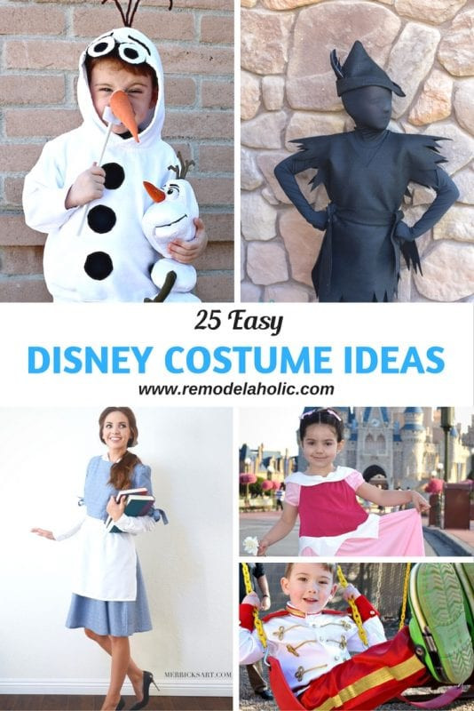 Best ideas about Disney Character Costumes DIY . Save or Pin Remodelaholic Now.