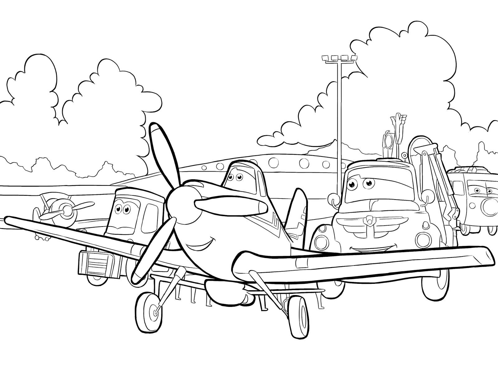 Best ideas about Disney Planes Coloring Pages For Kids . Save or Pin Kolorowanki z bajki Samoloty do wydruku Pokoloruj Świat Now.