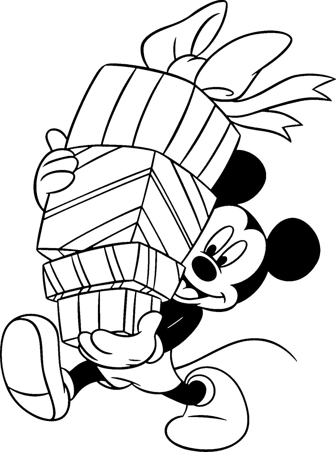 Best ideas about Disney Printable Coloring Pages . Save or Pin Free Disney Christmas Printable Coloring Pages for Kids Now.