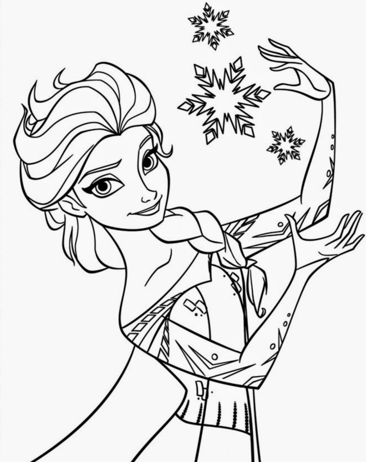 Best ideas about Disney Printable Coloring Pages . Save or Pin 15 Beautiful Disney Frozen Coloring Pages Free Instant Now.