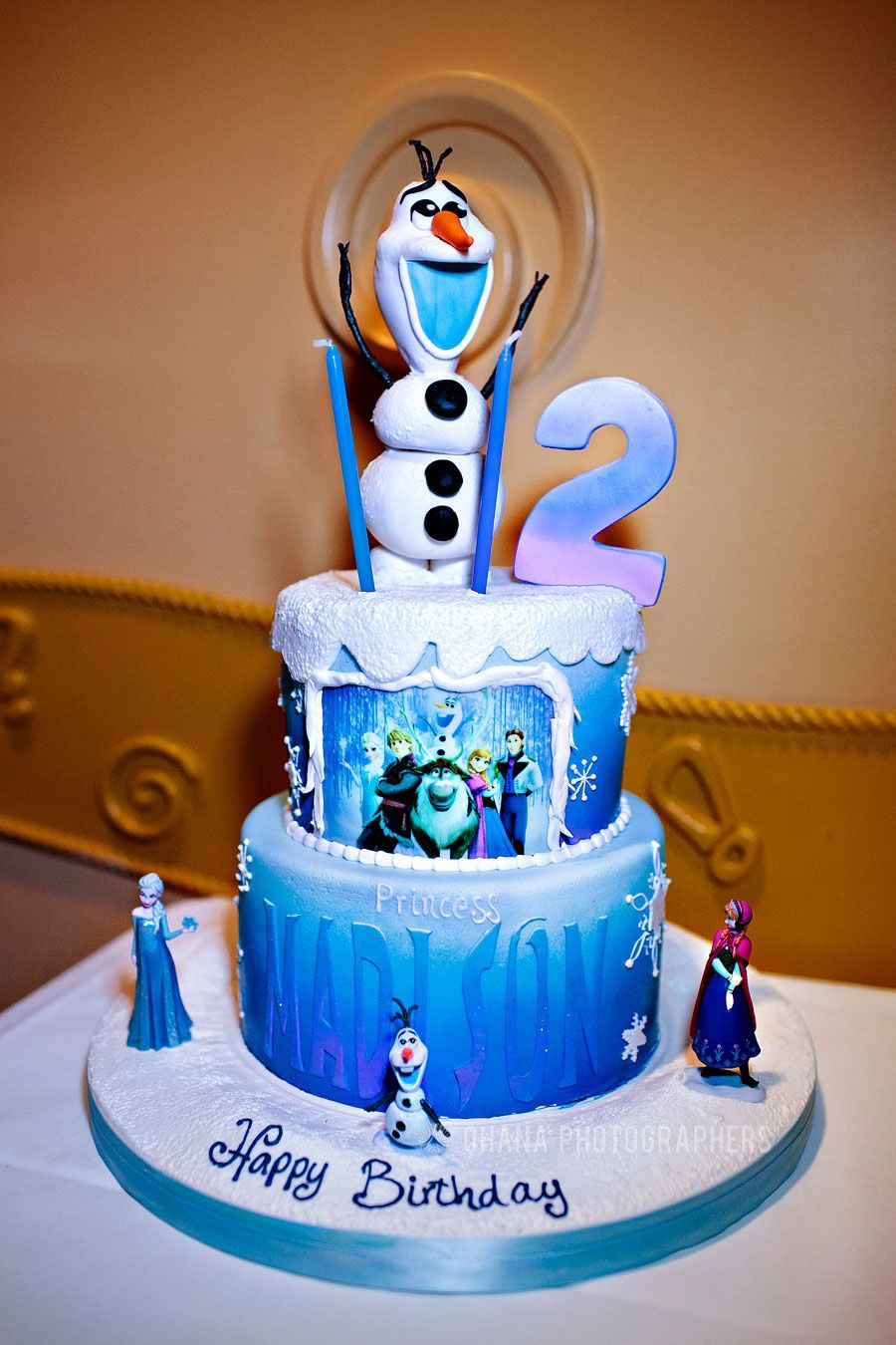 Best ideas about Disneyland Birthday Cake . Save or Pin Frozen Theme Birthday Party Frozen Theme Birthday Cake Now.