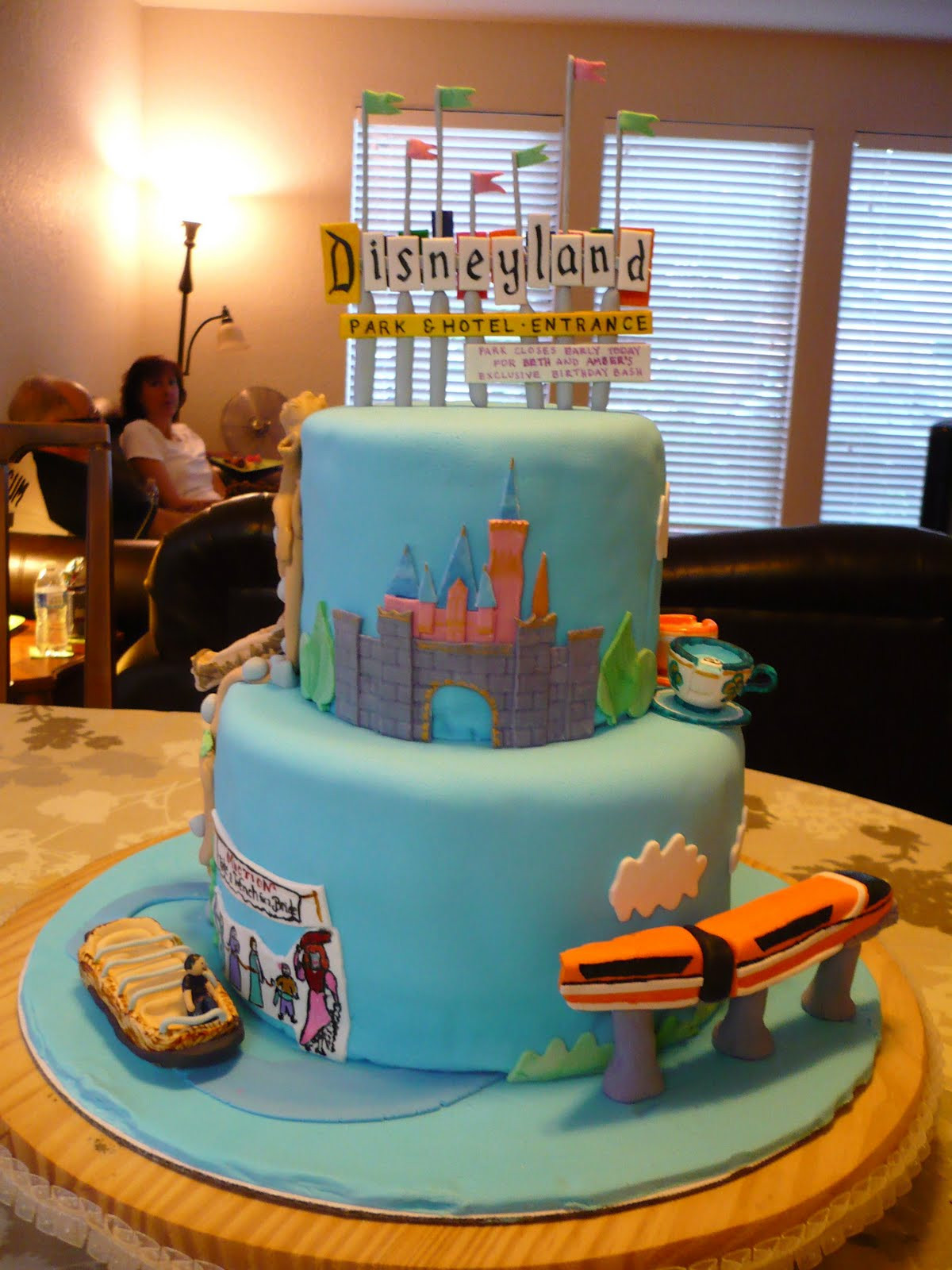 Best ideas about Disneyland Birthday Cake . Save or Pin The Wright Report DISNEYLAND CAKE Now.
