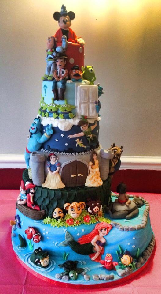 Best ideas about Disneyland Birthday Cake . Save or Pin Disneyland Birthday Cakes Now.