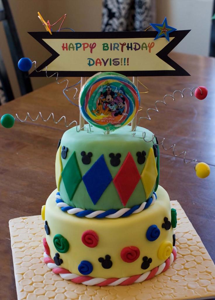 Best ideas about Disneyland Birthday Cake . Save or Pin 16 best DisneyLand BIRTHDAY images on Pinterest Now.