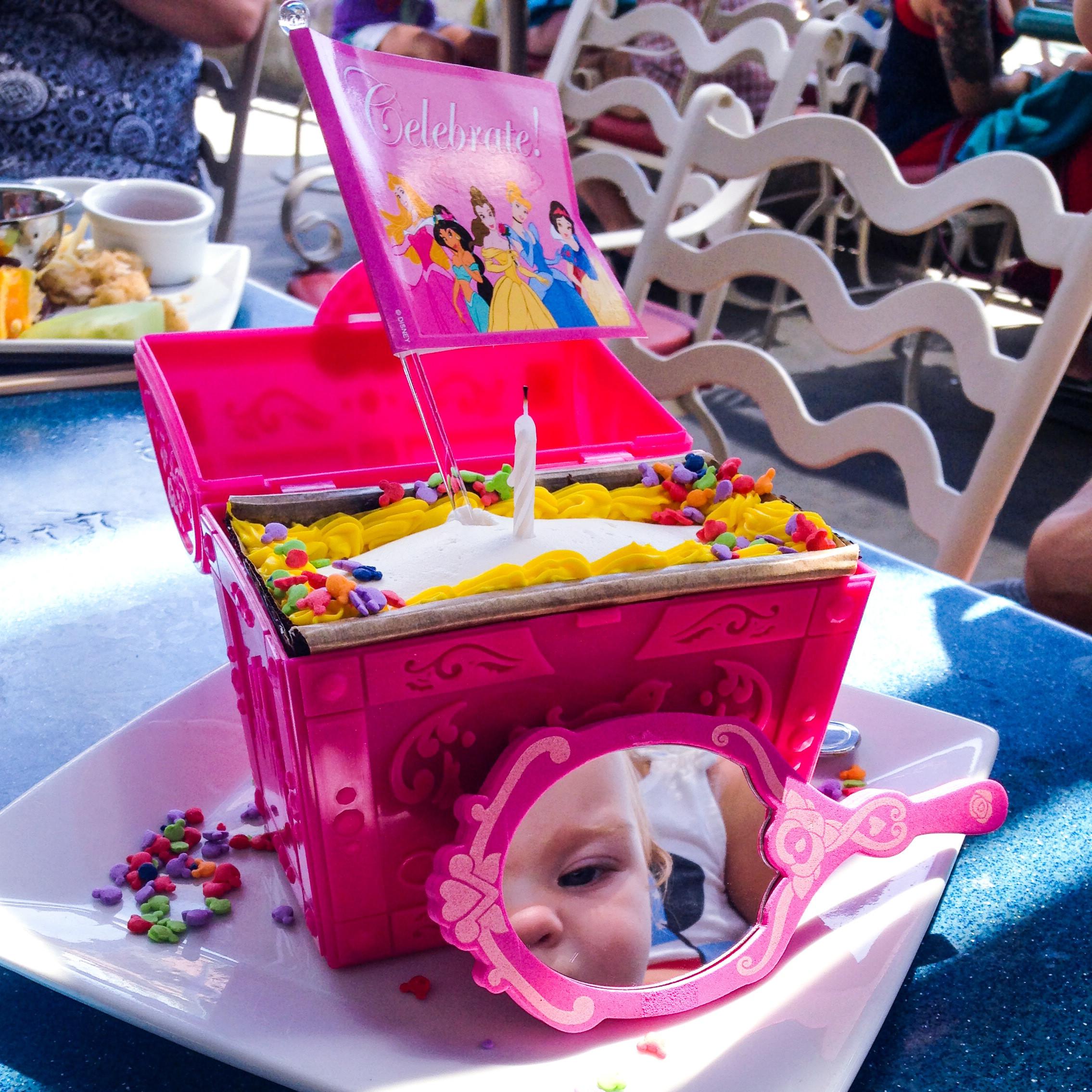 Best ideas about Disneyland Birthday Cake . Save or Pin Baby's first birthday at Disneyland Now.