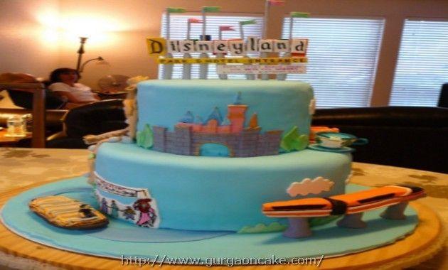 Best ideas about Disneyland Birthday Cake . Save or Pin Disneyland Birthday Cake Birthday Cake Now.