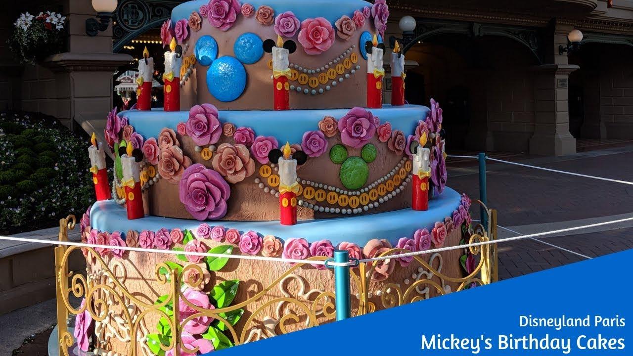 Best ideas about Disneyland Birthday Cake . Save or Pin Mickey s Birthday Cakes at Disneyland Paris Now.