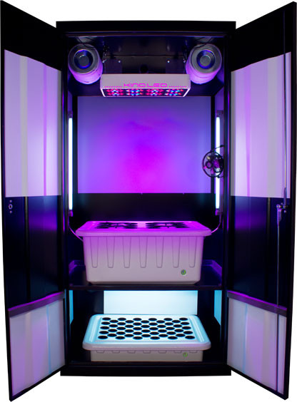 Best ideas about DIY 4Oz Minimum Yield Grow Box . Save or Pin SuperCloset Grow Boxes Grow Rooms Now.