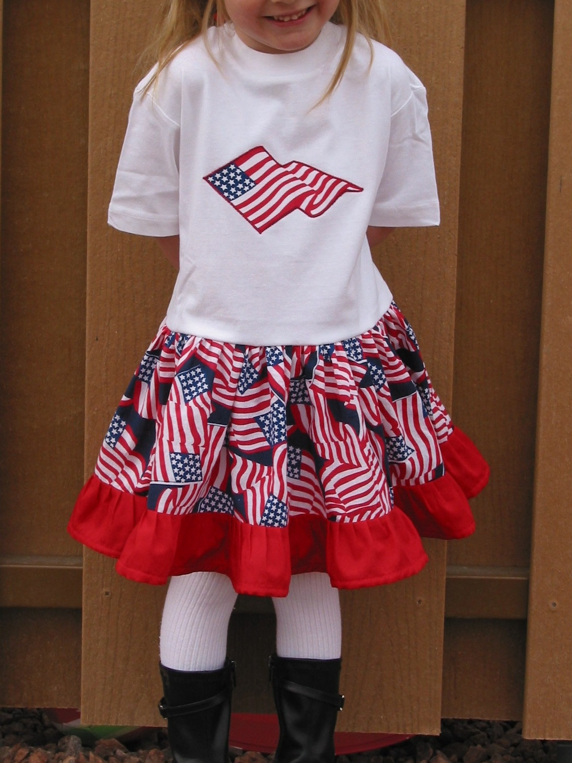 Best ideas about DIY 4Th Of July Outfits . Save or Pin Sewing by Shirley DIY 4th of July Outfit Now.