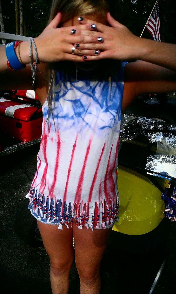 Best ideas about DIY 4Th Of July Outfits . Save or Pin DIY 4th of July outfit 4th of July Now.