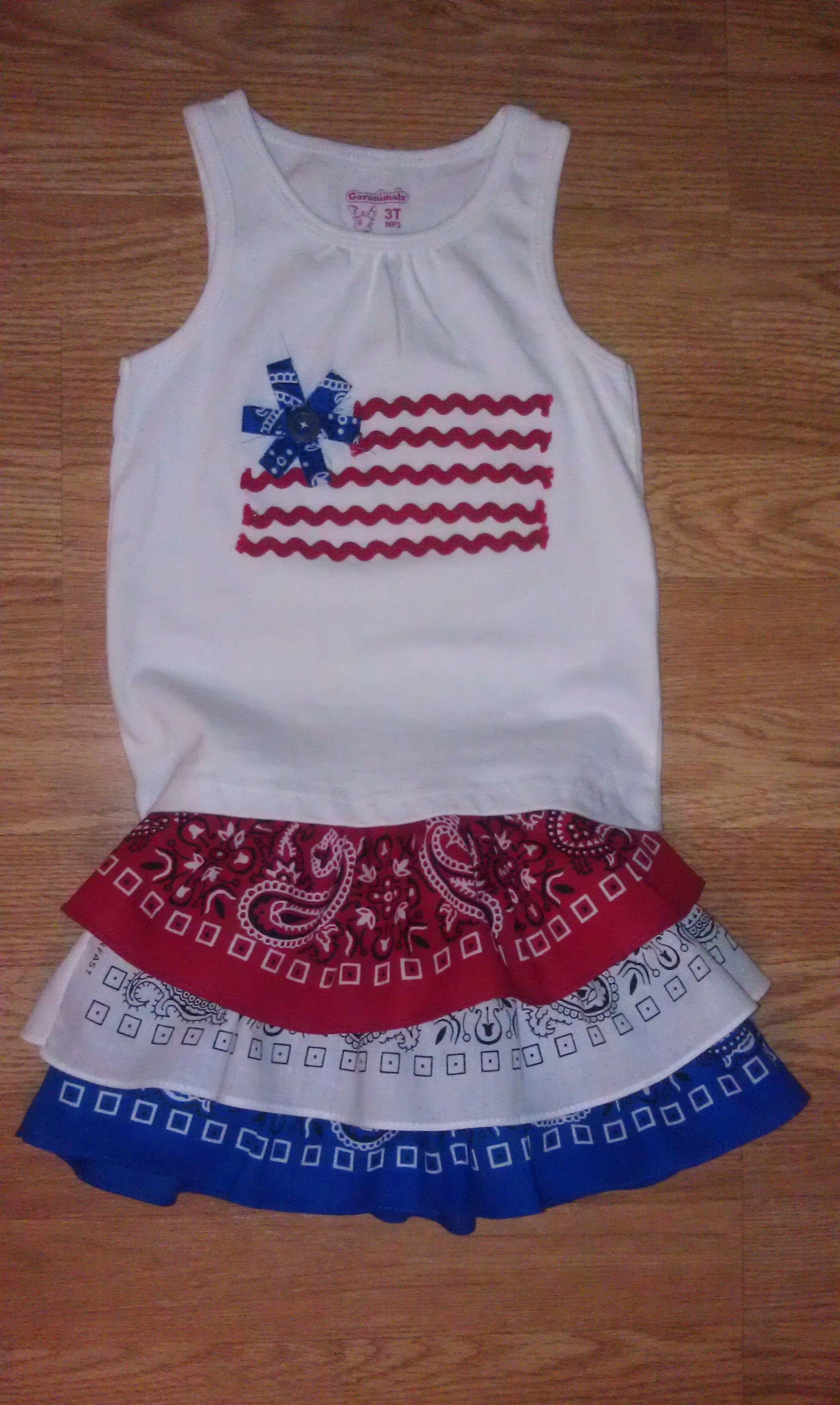 Best ideas about DIY 4Th Of July Outfits . Save or Pin DIY 4th of July outfit stars & stripes Now.