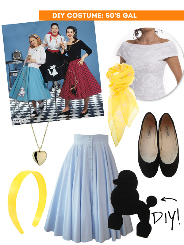 Best ideas about DIY 50S Costume . Save or Pin DIY 5 thrift shop halloween costume ideas The Sweet Now.