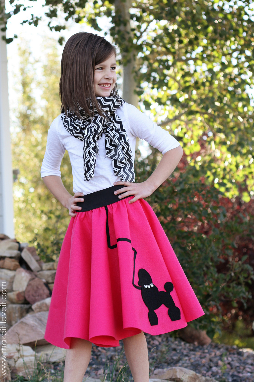 Best ideas about DIY 50S Costume . Save or Pin Halloween Costume Ideas Very Low Sew POODLE SKIRT Now.