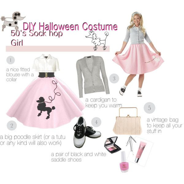 Best ideas about DIY 50S Costume . Save or Pin Best 25 Sock hop costumes ideas on Pinterest Now.