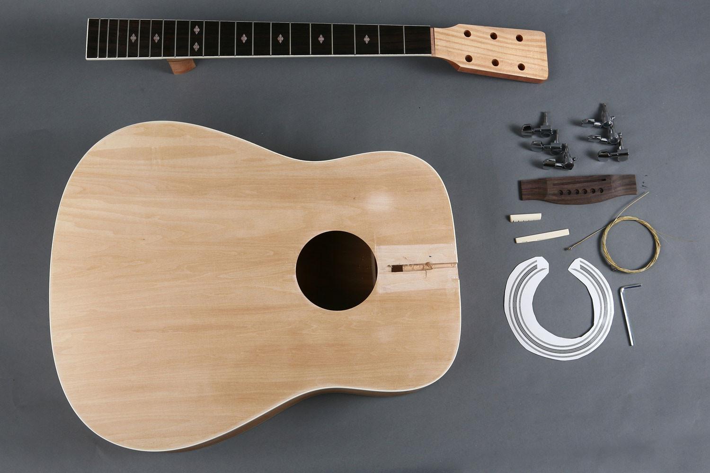 Best ideas about DIY Acoustic Guitar Kit . Save or Pin Diy Acoustic Guitar Kit Instructions DIY Design Ideas Now.