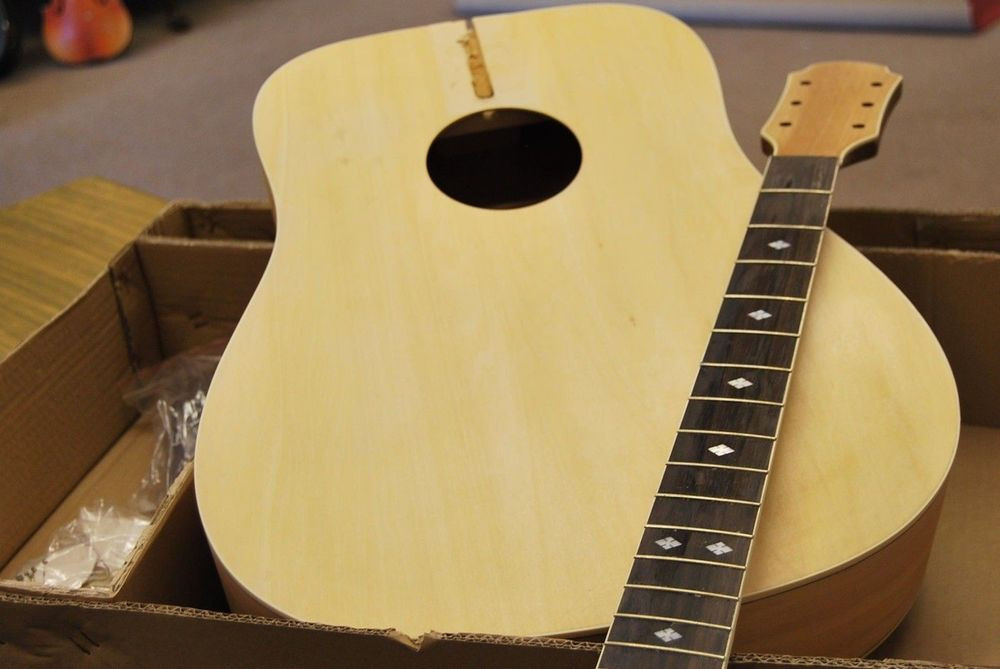 Best ideas about DIY Acoustic Guitar Kit . Save or Pin CUSTOMIZE YOUR OWN FULL SIZE 6 STRING D ACOUSTIC Now.