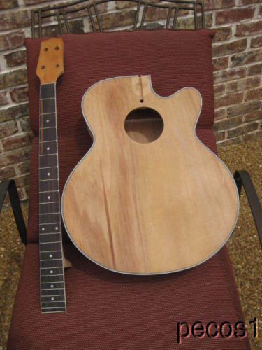 Best ideas about DIY Acoustic Guitar Kit . Save or Pin Do It Yourself Unfinished Acoustic Electric Bass Guitar Now.