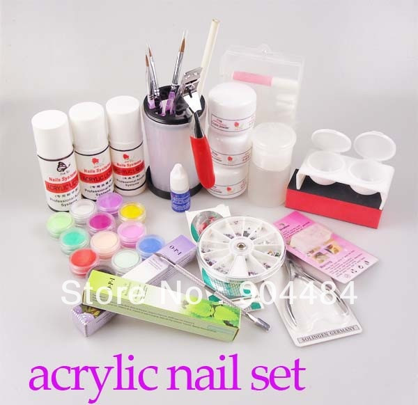 Best ideas about DIY Acrylic Nails Kit . Save or Pin Acrylic Powder Set DIY Nail Art Kit with Powder Liquid Now.