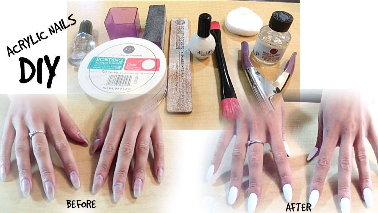 Best ideas about DIY Acrylic Nails Kit . Save or Pin DIY Acrylic Nail and Fill Tutorial Using ASP Try Me Kit Now.