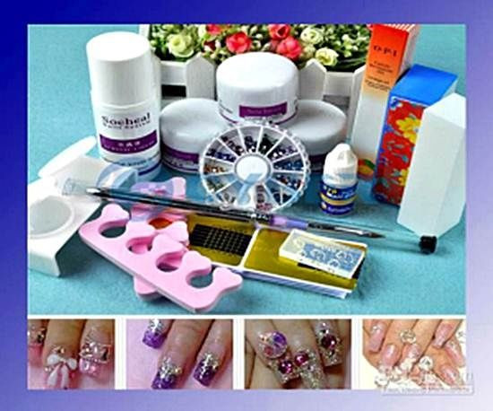 Best ideas about DIY Acrylic Nails Kit . Save or Pin 1000 ideas about Acrylic Nail Kits on Pinterest Now.