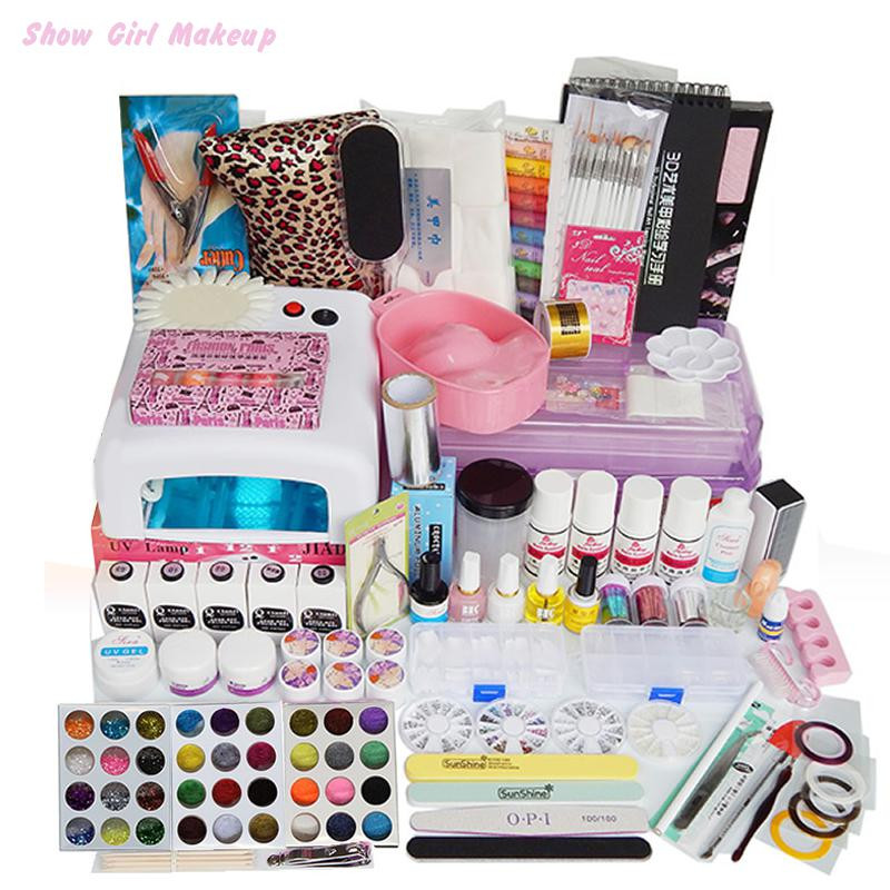 Best ideas about DIY Acrylic Nails Kit . Save or Pin Nails Art Tools Professional Salon Full Nail Manicure Uv Now.