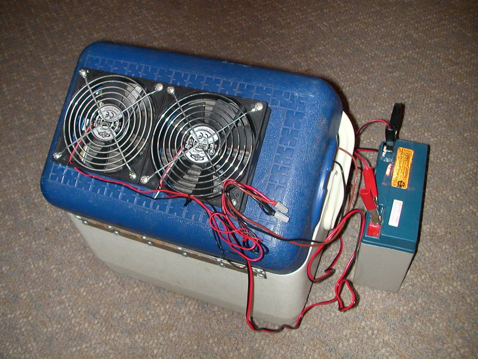 Best ideas about DIY Air Conditioner . Save or Pin Portable 12V Air Conditioner Cheap and Easy 12 Steps Now.