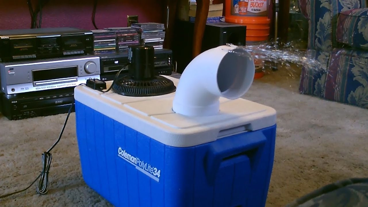 Best ideas about DIY Air Conditioning . Save or Pin Homemade air conditioner DIY Awesome Air Cooler EASY Now.
