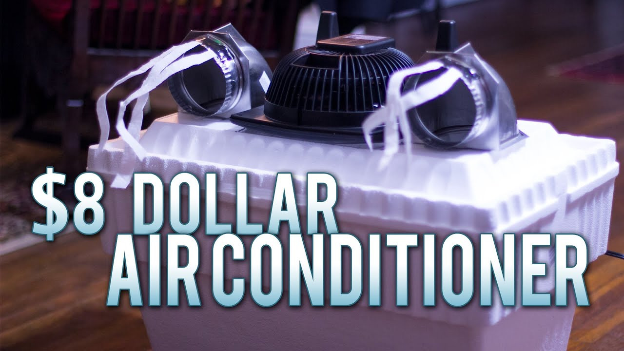 Best ideas about DIY Air Conditioning . Save or Pin $8 Homemade Air Conditioner Works Flawlessly Now.